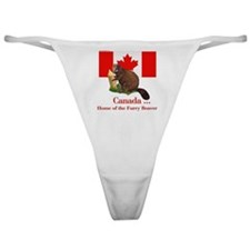 Canada - Beaver Home Classic Thong