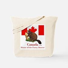 Canada - Beaver Home Tote Bag