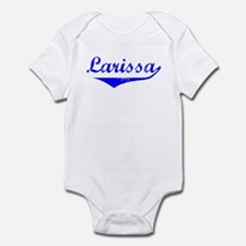 Larissa Vintage (Blue) Infant Bodysuit