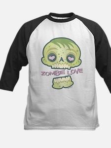 Zombie Love: Romantic Dead Kids Baseball Jersey