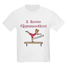I Love Gymnastics (Cassidy) T-Shirt