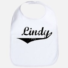 Lindy Vintage (Black) Bib