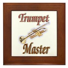 Trumpet Master Framed Tile