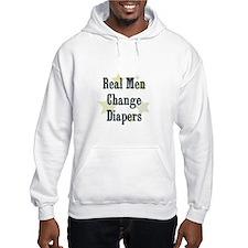 Real Men Change Diapers Hoodie