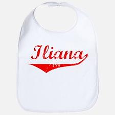 Iliana Vintage (Red) Bib
