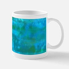 Caribbean Sea Watercolor Texture Mugs