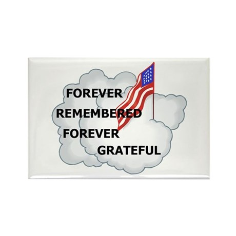 Remember our Soldiers Rectangle Magnet