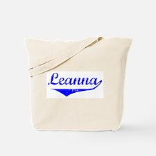 Leanna Vintage (Blue) Tote Bag