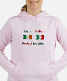 Unique Irish Women's Hooded Sweatshirt