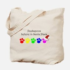 Peekapoos Believe Tote Bag