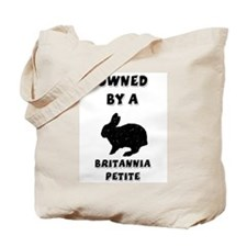Owned by a Britannia Tote Bag