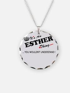 Cute Esther Necklace