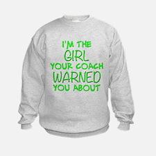 Cute Sports fastpitch softball Sweatshirt