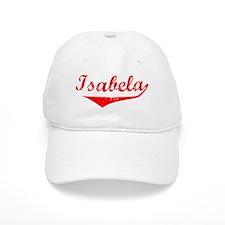 Isabela Vintage (Red) Baseball Cap