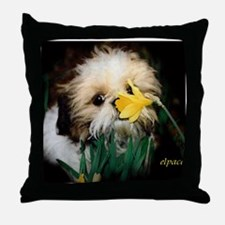 Shih Tzu puppy Throw Pillow