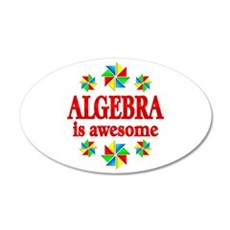 Algebra is Awesome Wall Decal
