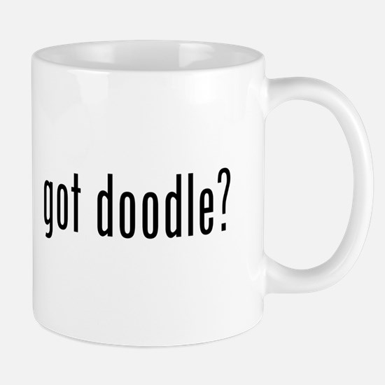 Got Doodle? (black Text) Mugs