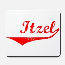 Itzel Vintage (Red) Mousepad