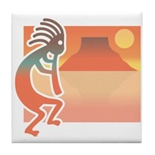 Kokopelli 7 Tile Coaster