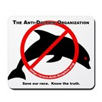 Anti-Dolphin Mousepad