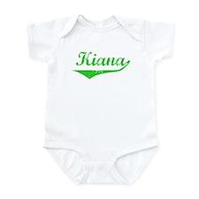Kiana Vintage (Green) Infant Bodysuit