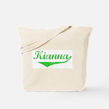 Kianna Vintage (Green) Tote Bag