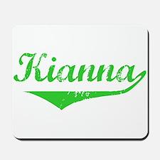 Kianna Vintage (Green) Mousepad