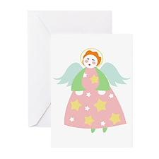 Cute Christmas Angel Greeting Cards (Pk of 10)