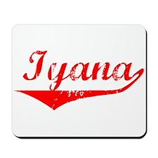 Iyana Vintage (Red) Mousepad