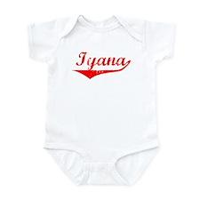 Iyana Vintage (Red) Infant Bodysuit