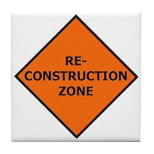Re-Construction Tile Coaster