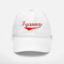 Iyanna Vintage (Red) Baseball Baseball Cap