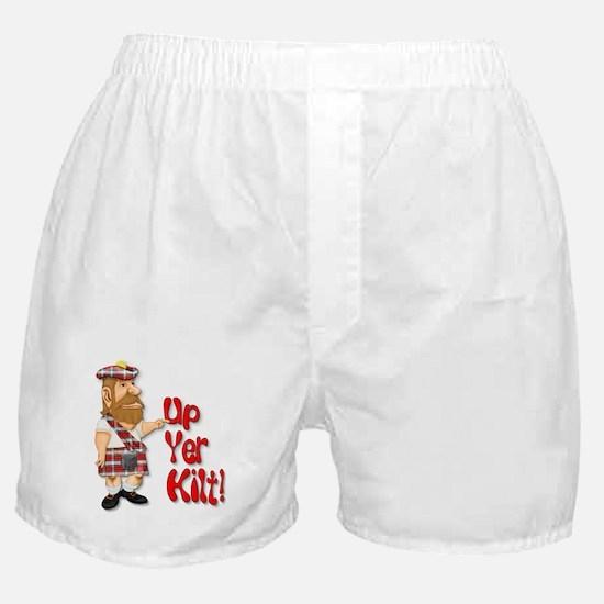 Scot Up Yer Kilt Boxer Shorts