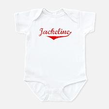 Jackeline Vintage (Red) Infant Bodysuit