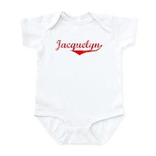 Jacquelyn Vintage (Red) Onesie
