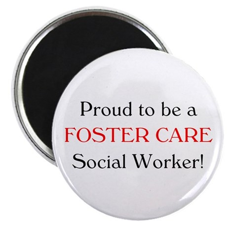 Proud Foster Care SW Magnet