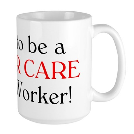 Proud Foster Care SW Large Mug