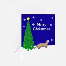 Ferret Christmas Greeting Cards (Pk of 20)