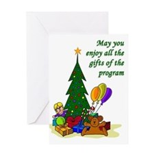 """Recovery Christmas Card """"Gifts of the Program"""