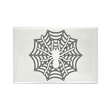 Spiderweb Rectangle Magnet