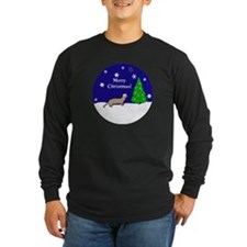 Ferret Merry Christmas T