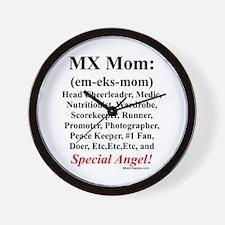 """MX Mom"" Wall Clock"