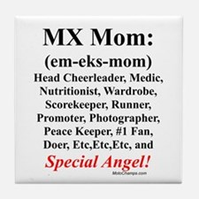 """MX Mom"" Tile Coaster"