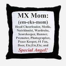 """MX Mom"" Throw Pillow"