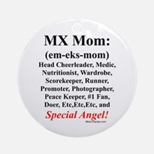 """MX Mom"" Ornament (Round)"