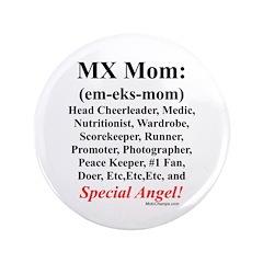 """MX Mom"" 3.5"" Button"