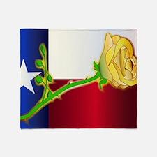 Unique Graphic texas flag Throw Blanket