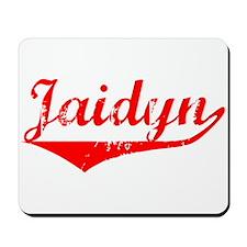 Jaidyn Vintage (Red) Mousepad