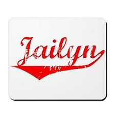 Jailyn Vintage (Red) Mousepad
