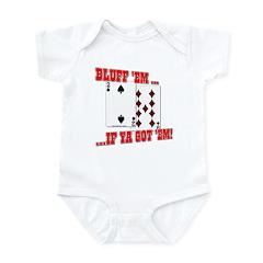 Bluff Texas Hold 'em Infant Bodysuit